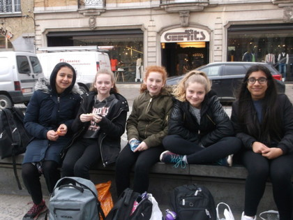2017 Year 8 Ypres