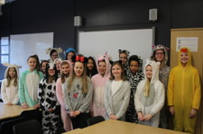 Year 7 onesie day 5