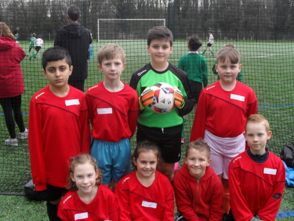 2017 Year 5 Football Tournament with Sports Leaders
