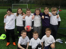 Year 5 football tournament 8