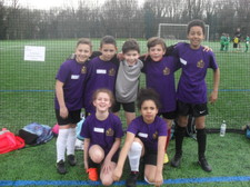 Year 5 football tournament 45