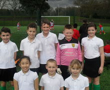 Year 5 football tournament 6