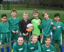 Year 5 football tournament 10