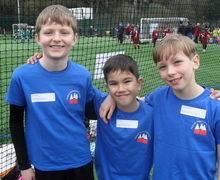 Year 5 football tournament 28