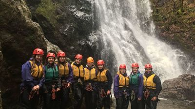 2017 A Level Geography students in Snowdon