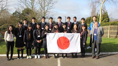 Japanese Exchange Students Visit Invicta