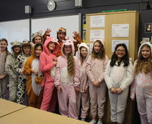 Year 7 onesie day 2