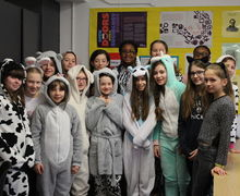 Year 7 onesie day 3