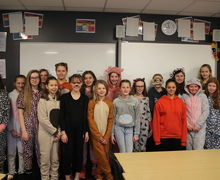 Year 7 onesie day 9