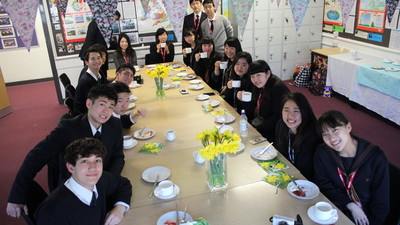 Japanese Exchange Students Experience British Culture