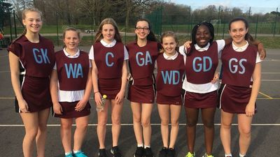 Netball Success v Kings School Rochester
