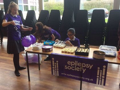 2017 Cake Sale for the Epilepsy Society