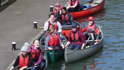 Duke of Edinburgh Gold Canoeing Practice Expedition