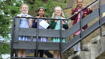 Year 6 Transition Workshop - Treasure Hunt