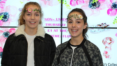 Non Uniform Day - Flower Power!