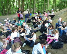 Year 7 boxley trip 90