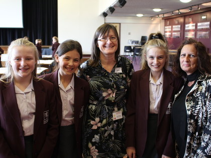 2017 Year 7 Afternoon Tea with Primary Heads and Year 6 Teachers