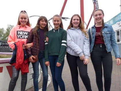 2017 Choir at Thorpe Park