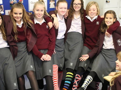 2017 Year 7 Silly Sock Day