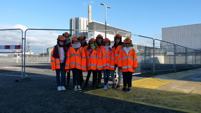 Year 8 STEM Trip to Dungeness Power Station