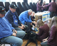 Guide dogs christmas fair 13