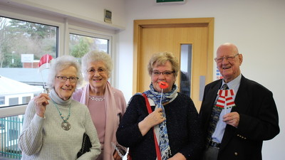 Over 60s Christmas Lunch Fun