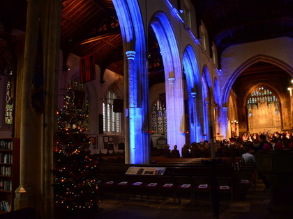 2017 Christmas Carol Service at All Saint's Church