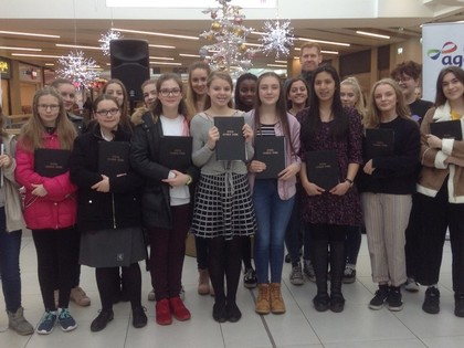 2017 Carol Singing at The Mall
