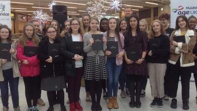 Carol Singing at The Mall and House of Fraser
