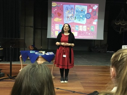 2018 Year 8 with Author Cathy Cassidy