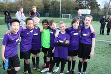 Year 5 football tournament 120