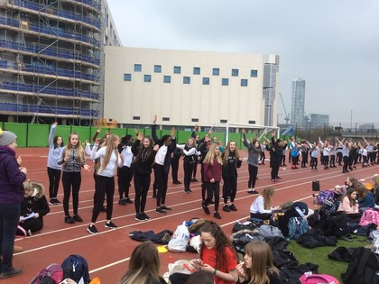 2018 Pro Excel Dance before Saracens Game