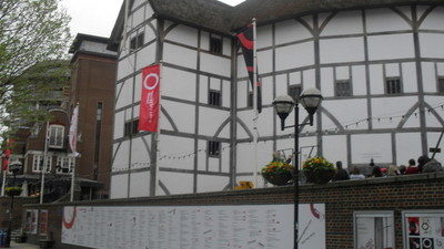 Year 10 History Trip to Globe Theatre