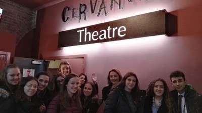 A-Level Spanish Theatre Trip