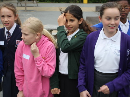 Year 6 treasure hunt workshop 14