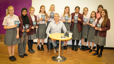 The Holmesdale School - Chris Hallatt Wells Author Visit