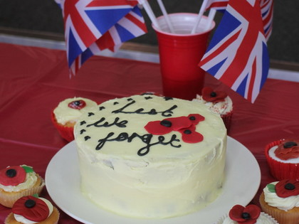 2018 remembrance day cake sale 4