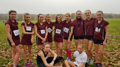 Maidstone Schools Cross Country Competition