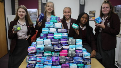 Sanitary Product Donations