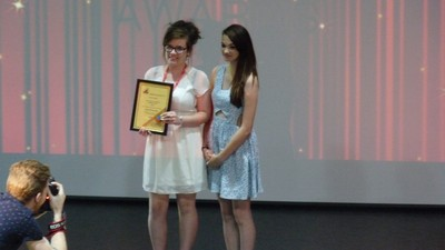 Lucy and Laura win Try Angle Awards
