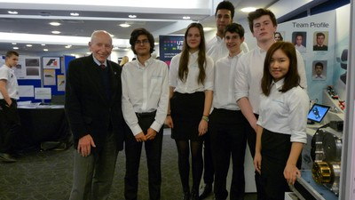 F1 in Schools Regional Competition Success