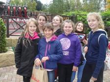 2015 school choir thorpe park october 18