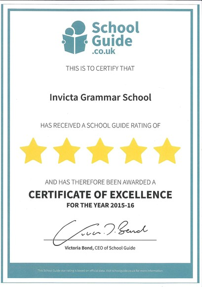 Good School Guide Certificate