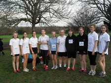 Maidstone schools cross country november 1