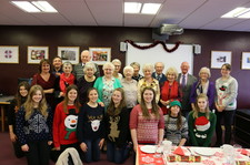 Over 60s christmas meal dec 15 16