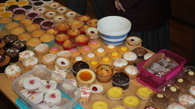 Year 7 Charity Cake Sale