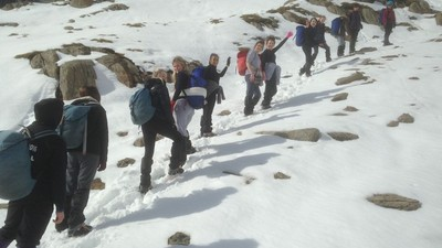 A Level Geographers visit Snowdon