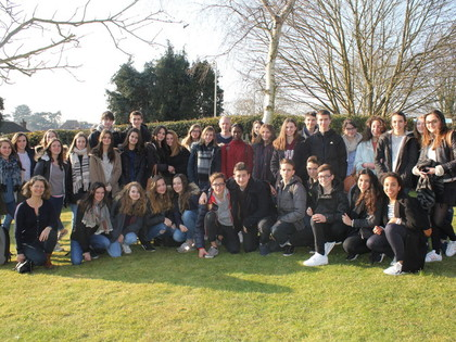 2016 French Exchange Visit to IGS