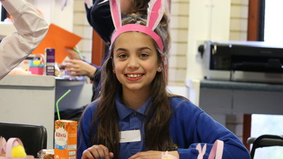 Siver Arts Award Students run Easter Craft Workshop