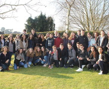 French Exchange at IGS March 2016 (1)